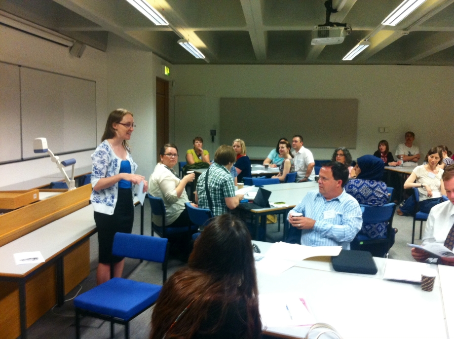 Welcome address by one of the conference organisers, Jennifer Evans, on Day One of the conference