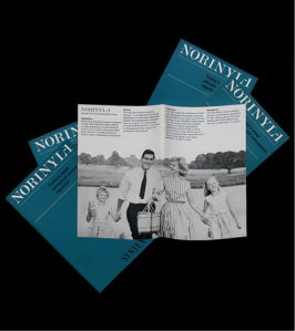 1966. Physician's Circulars / Syntex, 'Norinyl-1'. By kind permission of Roche. Courtesy of Julia Larden, and the Wellcome Library, London. Photography by J Borge 2014 CC BY 4.0