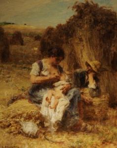 Léon_Augustin_Lhermitte,_1886_-_Maternité