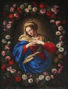 Reference1--Sassoferrato_Our_Lady_in_a_garland_of_roses